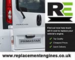 Reconditioned Nissan Primastar Van