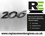 Reconditioned Peugeot 206 Diesel