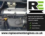 used engine for peugeot 307 cc replacement engines for. Black Bedroom Furniture Sets. Home Design Ideas