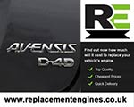 Reconditioned Toyota Avensis Diesel