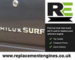 Reconditioned Toyota Hilux Surf Diesel