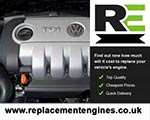 Used Engine For VW Eos-Diesel
