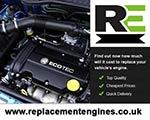 Engine For Vauxhall Tigra-Petrol