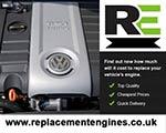 Engine For VW Eos-Petrol