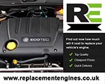 Engine For Vauxhall Vectra-Petrol